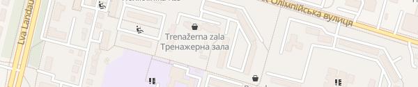 Karte Olimpiiska St Charkiw