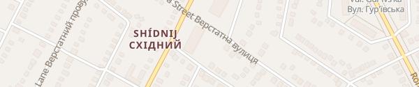 Karte Plytochna St Charkiw