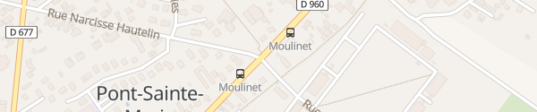 Karte Avenue Jules Guesde Pont-Sainte-Marie