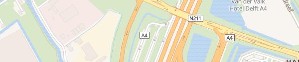 Karte Peulwijk-West Den Hoorn