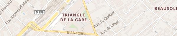 Karte Parking Nemausus Gare Nîmes