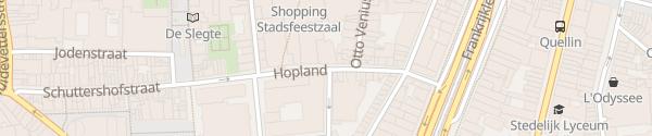 Karte Parkhaus Inno Antwerpen