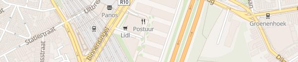 Karte Parking Post X Antwerpen