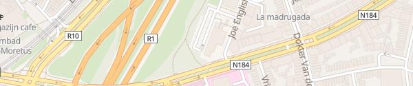 Karte Van der Valk Antwerpen