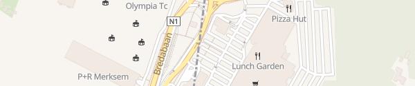 Karte Carrefour Schoten