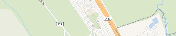 Karte Aire De Chien Blanc Éguilly