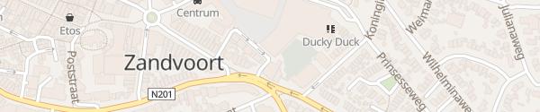Karte Cornelis Slegersstraat Zandvoort