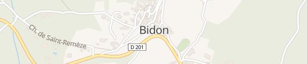 Karte Le Village Bidon