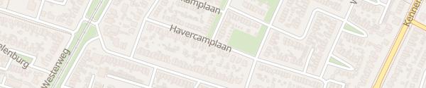 Karte Harvercamplaan Heiloo
