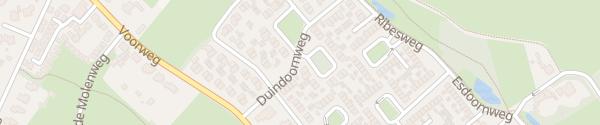 Karte Duindoornplantsoen Schoorl