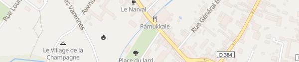 Karte Parking Avenue du Général Leclerc Bar-Sur-Aube