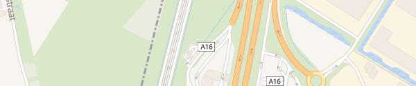 Karte Fastned Hazeldonk-West Breda