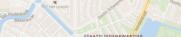 Karte Dr. Schaepmanplein Alkmaar