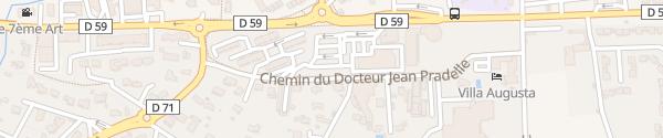 Karte Place du Quatorze Juillet Saint-Paul-Trois-Châteaux
