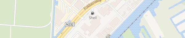 Karte HPC Shell Tankstelle Oude Meer