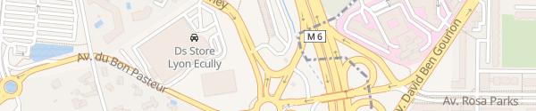 Karte Chemin Jean-Marie Vianney Écully