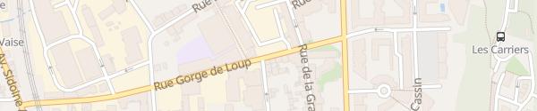 Karte Hotel Lyon-ouest Lyon