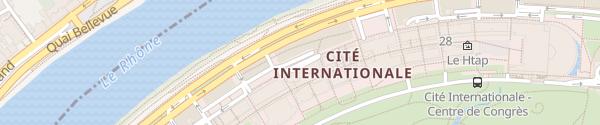 Karte Hilton Lyon Lyon