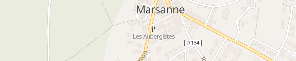 Karte Avenue René Chartron Marsanne
