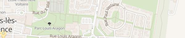 Karte Avenue de la Résistance Portes-lès-Valence
