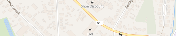 Karte Lidl Oud-Turnhout