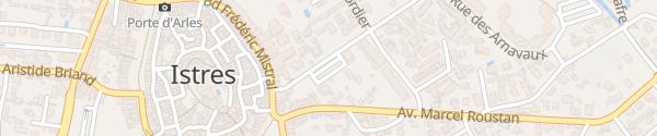 Karte Parking Arnavaux Istres