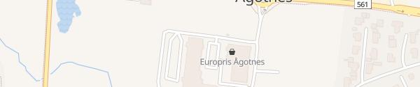 Karte Ågotnes Torg Ågotnes