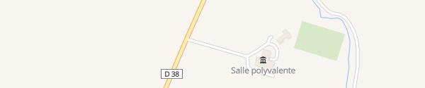 Karte Mouterle Moidieu-Détourbe