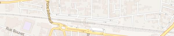 Karte Rue de Delay Romans-sur-Isère