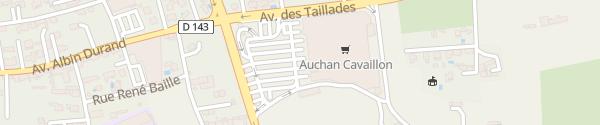 Karte Auchan Cavaillon