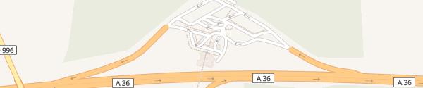 Karte Aire de Glanon Glanon