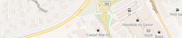 Karte Bilkraft Ladesäule Straume