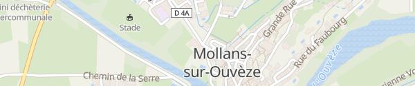 Karte Les Parrans Mollans-sur-Ouvèze