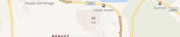 Karte Askøy Amfi Kleppestø