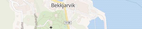 Karte Livsstilsenteret Bekkjarvik Storebø