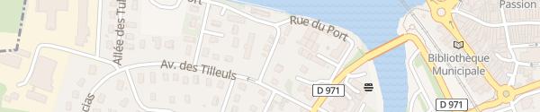 Karte Wohnmobil Rastplatz Louhans