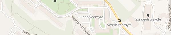 Karte Extra Vadmyra Loddefjord
