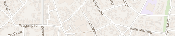 Karte Caliskamp Laren