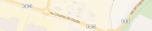 Karte CNR Saint-Vulbas