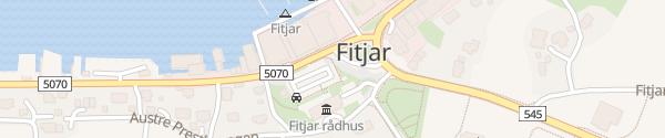 Karte Rådhuset Fitjar