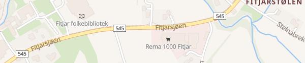 Karte REMA 1000 Fitjar