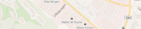 Karte Fortum Ladesäule Nyborg