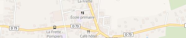 Karte Route de Lyon La Frette