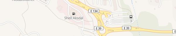 Karte Shell Aksdal