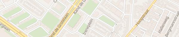 Karte Solmsweg Eindhoven