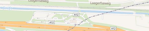 Karte Fastned Rastplatz Oudenhorst Woudenberg