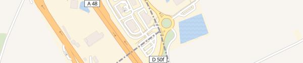 Karte Rue Augustin Blanchet Colombe