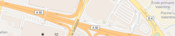 Karte IKEA Marseille