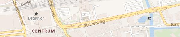 Karte Hauptbahnhof Eindhoven