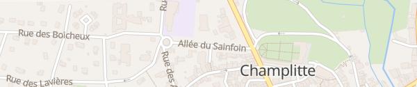 Karte Office de tourisme Champlitte